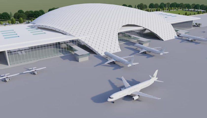 भैरहवामा बनिहरहेको गौतमबुद्ध अन्तर्राष्ट्रिय विमानस्थलमा दोस्रो टर्मिनल भवन बनाउने तयारी