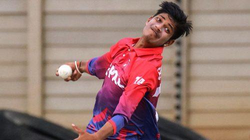 युवा क्रिकेटर सन्दीप लामिछानेलाई कोरोना संक्रमण
