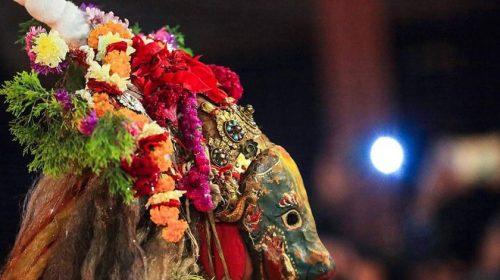 कार्तिकनृत्यः स्वास्थ्य मापदण्ड पालना गरेर बराह नृत्य मञ्चन