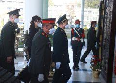 चिनियाँ विदेशमन्त्री वेइ सैनिक मुख्यालय जंगी अड्डामा