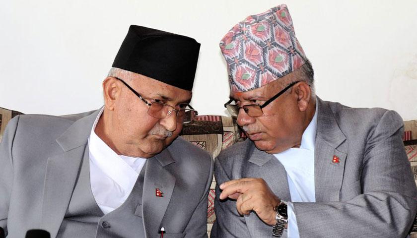 अब प्रचण्डसँग सँगै हिंड्न सकिन्न – ओली, लहडका भरमा पार्टी एकता तोडिन्न – नेपाल