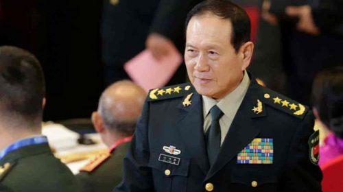 २० सदस्यि प्रतिनिधी मण्डल सहित  चिनियाँ रक्षामन्त्री वेई फेङ्गे काठमाडौंमा