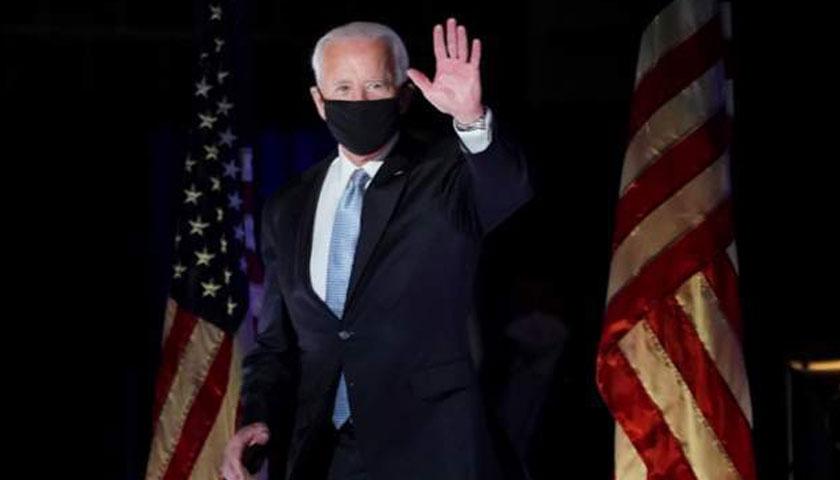 राष्ट्रपति चुनिएपछि बाइडनको पहिलो भाषणः भने, 'यो जनताको जीत हो'