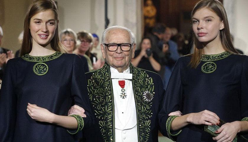 फ्रान्सका प्रसिद्ध फेसन डिजाइनर पियरे कार्डिनको निधन