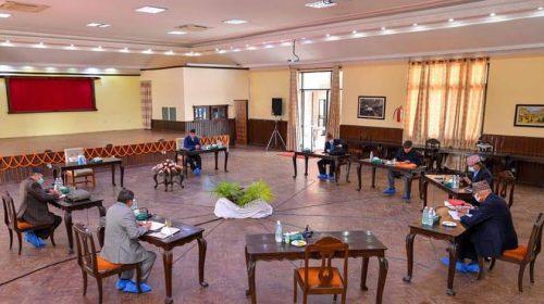 नेकपाका एक अध्यक्ष ओलीको अनुपस्थिती पछी सचिवालय बैठक २० गते सारियो