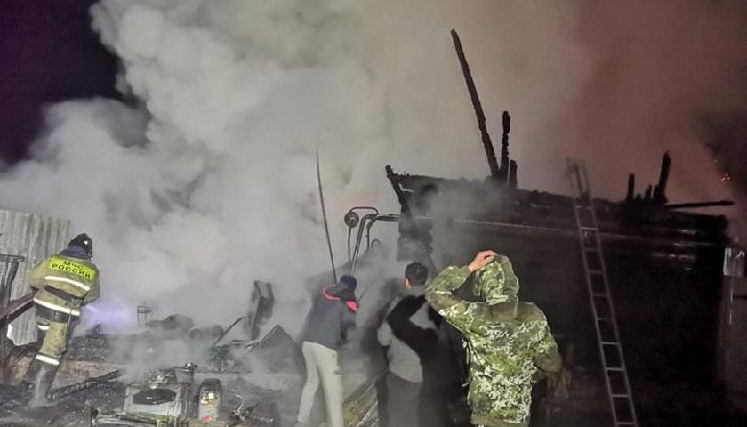 रूसको एक नर्सिङ होममा आगलागी, कम्तीमा ११ जनाको मृत्यु