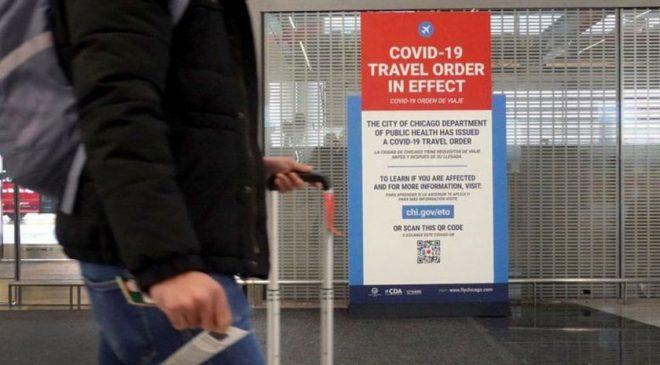 अमेरिकी विमानस्थलमा 'कोभिडको डर ले एक व्यक्ति तीन महिनादेखि लुकेर बसे'