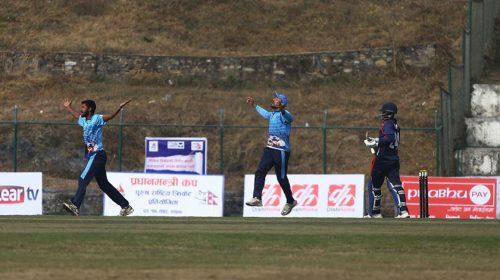 प्रधानमन्त्री कप क्रिकेट : वाग्मती र आर्मी विजयी