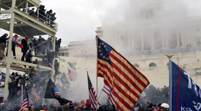 अमेरिकी राष्ट्रपति ट्रम्पका समर्थकले हिंसा मच्चाएपछि वासिङ्टनमा कर्फ्यु