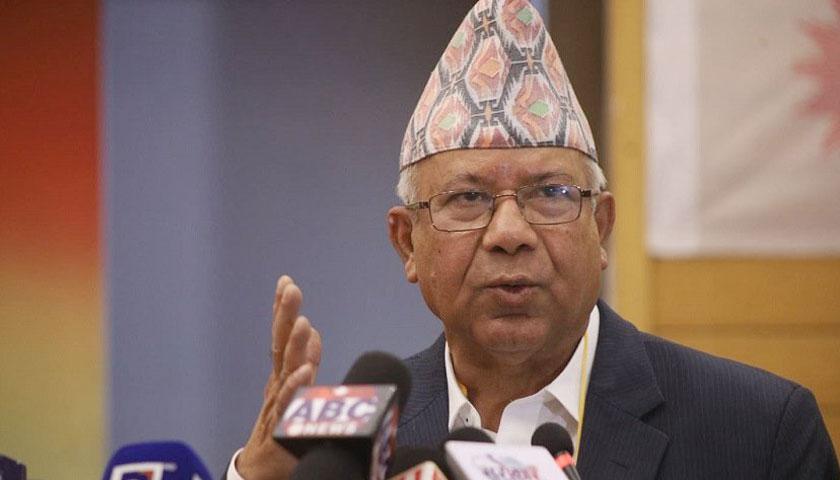 थास्थिति एमसीसी पारित गर्न नसकिने : माधवकुमार नेपाल, अध्यक्ष नेकपा (एकीकृत समाजवादी)