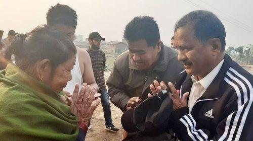 सुरक्षाको घेरा विच विप्लव काठमाण्डौं ल्याइँदै