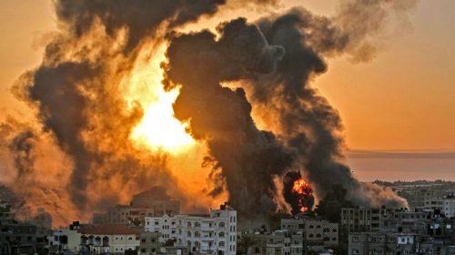 इजरायली सेनाको आक्रमणबाट गाजा पट्टीमा १३ बालबालिकासहित ४५ जनाको मृत्यु, ३ हजार बढी घाइते