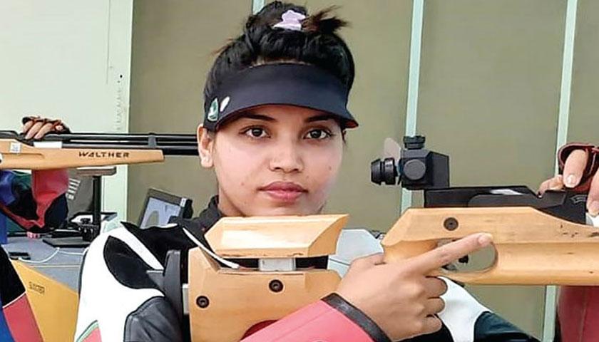ओलम्पिक खेलकूदमा नेपाली सुटिङ खेलाडी कल्पनाको राष्ट्रिय कीर्तिमान