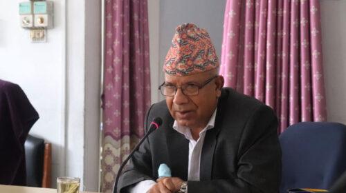 फेरी प्रधानमन्त्री बन्न जालझेल नगर्नु : एमाले बरिष्ठ नेता नेपाल