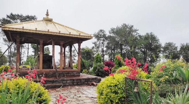 दोलखा मञ्जुश्री (मनेश्वरी) मन्दिर ५० लाखको लागतमा निर्माण हुर्दै (फोटो फिचर सहीत)