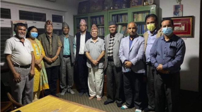आज दोलखामा एमाले ओली समूहको जिल्ला कमिटीको बैठक, खनाल–नेपाल समूहले एकतर्फी रुपमा आयोजना गरेको बैठकको विरोध गर्दै बिज्ञप्ती