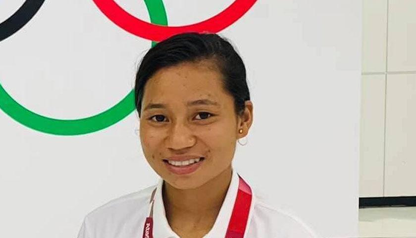 एथ्लेटिक्स खेलाडी सरस्वती चौधरी टोकियो ओलम्पिकको पहिलो चरणबाटै बाहिरिए