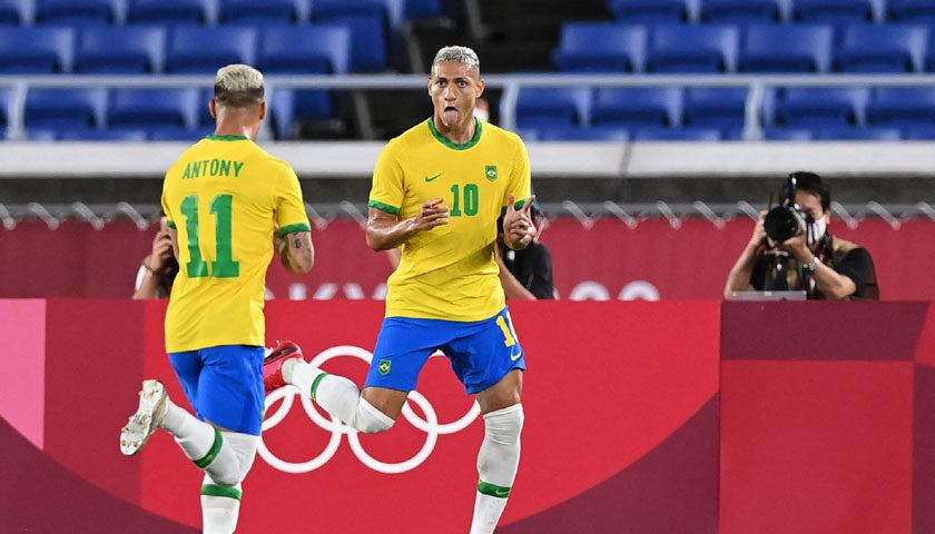 टोकियो ओलम्पिक : पुरुष फुटबलमा ब्राजिलको विजयी सुरुवात