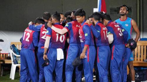 नेपालले आईसीसी क्रिकेट विश्वकप लिग २ अन्तर्गत त्रिकोणात्क सिरिजको पहिलो खेलमा अमेरिकामाथि शानदार जित